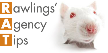 The RAT – Rawlings' Agency Tips